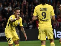 Debut de Neymar con el PSG