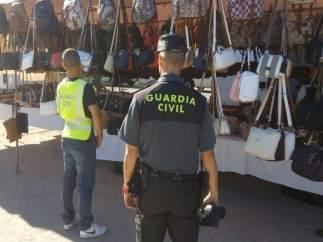 Foto: Bolsos Incautados Nigrán