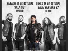 El guitarrista de Motörhead actuará en Madrid y Bilbao