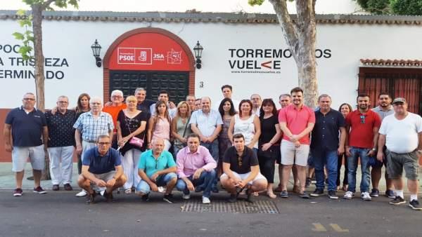 Plataforma en Torremolinos de apoyo a Ruiz Espejo
