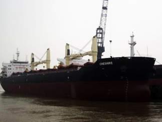 Un carguero británico lleno de fertilizante está a la deriva y sin tripulación al sur de Gran Canaria