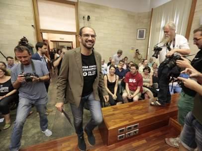 El alcalde de Sabadell, en su toma de posesión.