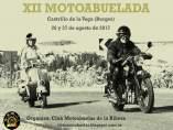 Cartel de la XII Motoabuelada.