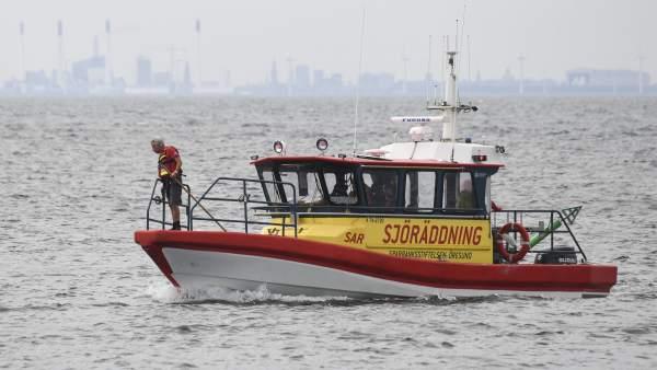 Búsqueda de la periodista sueca desaparecida en un submarino