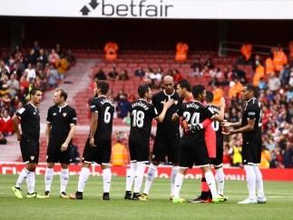 El Sevilla y el Basaksehir turco calientan en las redes la previa de la Liga de Campeones