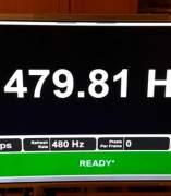 Primer monitor de 480 Hz.