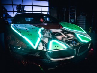 El coche del Joker