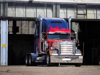 El camión de Transformers
