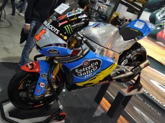 Moto del campeón del mundo Tito Rabat