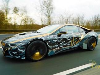 El coche de 'El Caballero Oscuro'