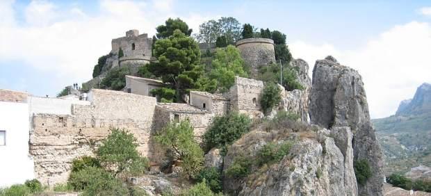 Castillo del Rey, en Guadalest