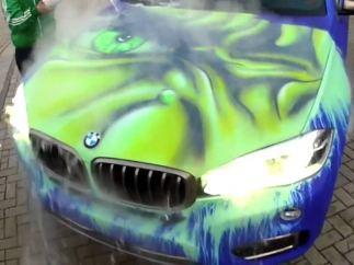 El coche de 'Hulk'