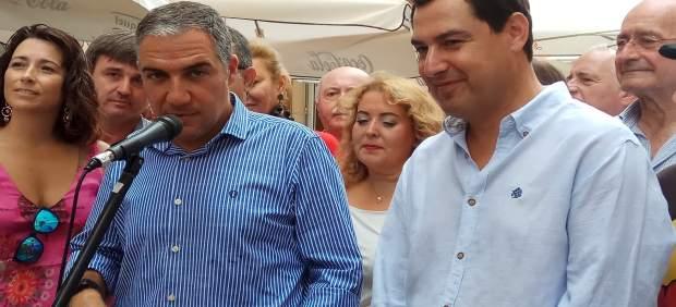 Elías Bendodo y Juanma Moreno PP-A málaga