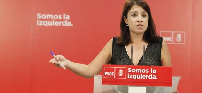 La vicesecretaria general del PSOE, Adriana Lastra.