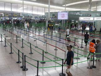 Normalidad en el Aeropuerto de El Prat