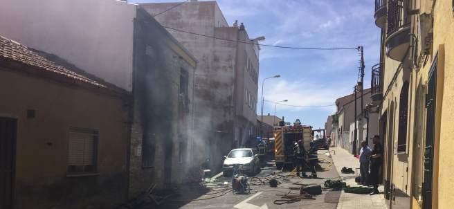 Incendio Salamanca