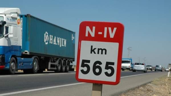 Carretera N-IV.