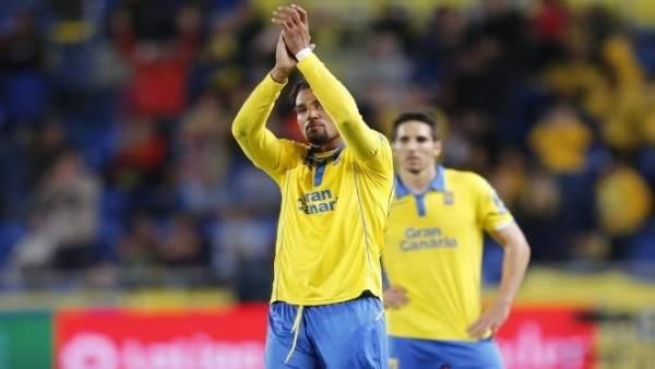 Kevin Prince Boateng jugando con Las Palmas