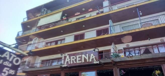 Edificio desalojado en Dénia