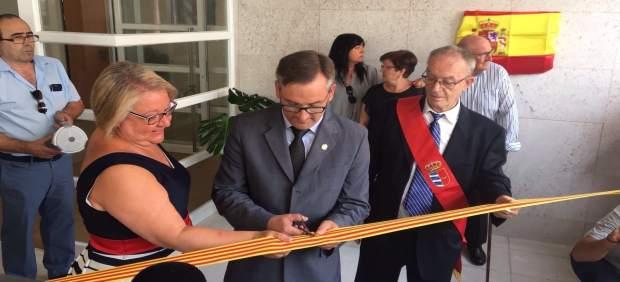 Inauguración del centro de día de Urrea de Gaén