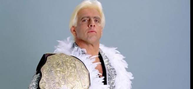 Ric Flair, durante su época de luchador.