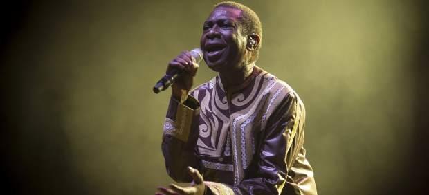 El músico senegalés Youssou N'Dour