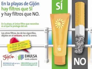 Campaña informativa de Emulsa.