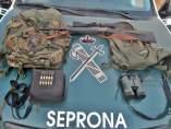 Operación contra la caza furtiva en Llerena