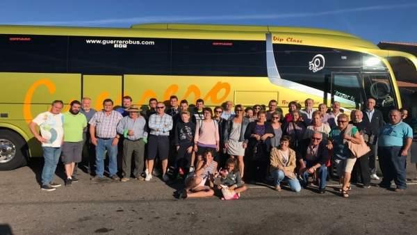 Excursión organizada por el Ayuntamiento de Osornillo