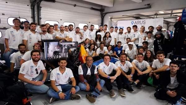 Excelentes resultados del Arus Andalucía Racing en el circuito de Hockenheim