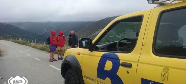 Rescate de peregrinos