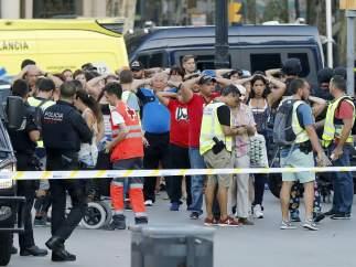 Atentando en la Rambla de Barcelona