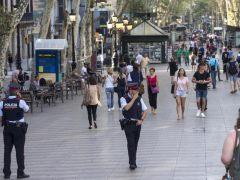 Reabre la Rambla y el transporte urbano opera con normalidad, salvo las líneas 1 y 3 de metro