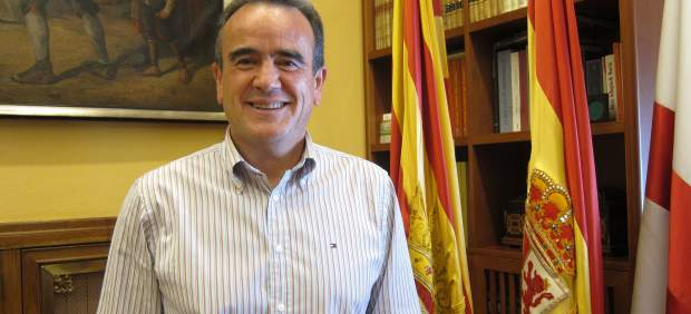 El presidente de la Diputación de Zaragoza, Juan Antonio Sánchez Quero.