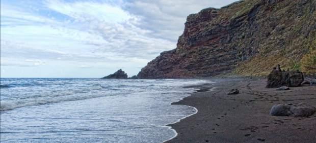 Playa Nogales, en La Palma