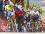 Imagen de los favoritos de La Vuelta