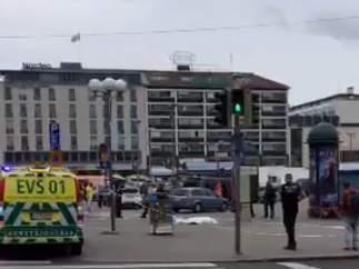 Un hombre ha apuñalado a varias personas en Turku