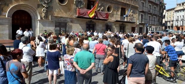 Concentración en Tarazona en contra del terrorismo