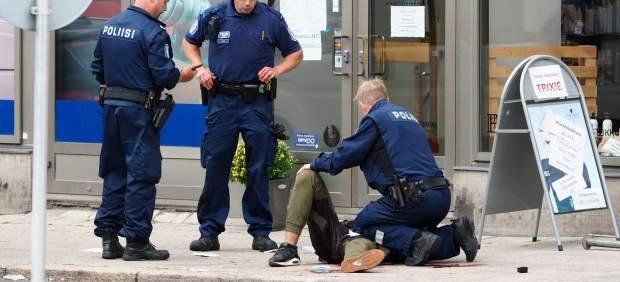 Un tribunal finlandés decreta prisión preventiva para el yihadista de Turku