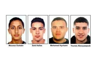 Cuatros presuntos terroristas