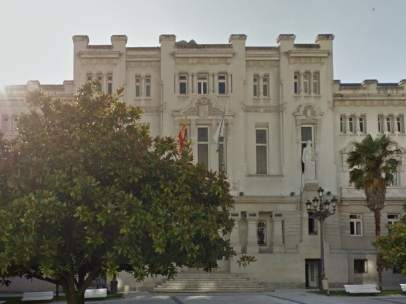 Fachada del Tribunal Superior de Justicia de Galicia