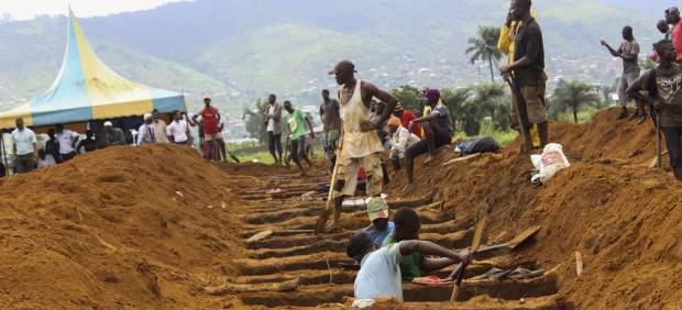 Preparación de tumbas