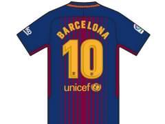 Los jugadores del primer equipo lucirán 'Barcelona' en lugar de su nombre en el partido contra el Betis
