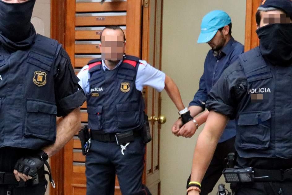 Detenido por el atentado en Barcelona