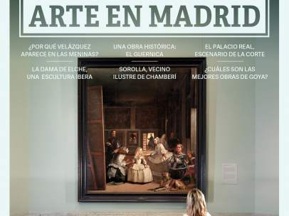 Portada de la guía 'Arte en Madrid'