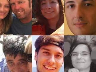 Víctimas de los atentados de Cataluña
