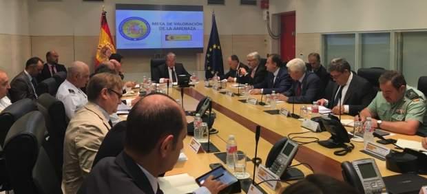Reunión de la mesa de evaluación del nivel de alerta terrorista