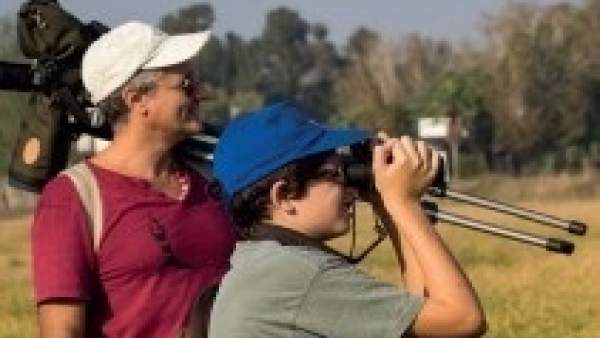 Portada del folleto 'Bird Watching en la Comunitat Valenciana'