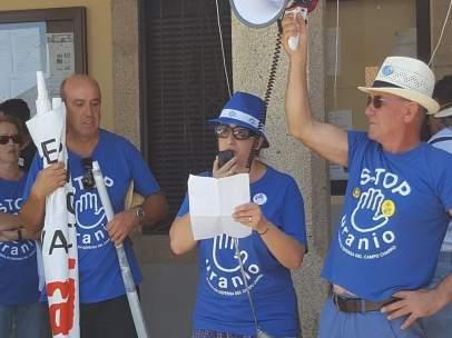 Salamanca.- Concentración de Stop Uranio