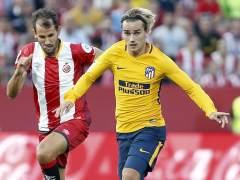 La fe del Atlético rescata un punto con diez ante el Girona